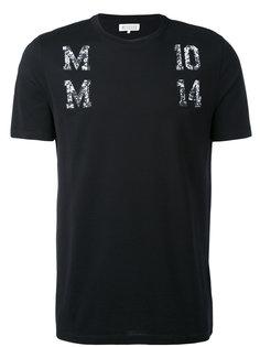 декорированная футболка Maison Margiela