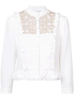 кружевная блузка с оборкой Galaxy Fleur Du Mal