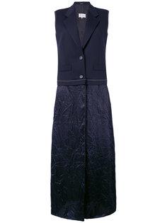 платье с лацканами-шалькой Maison Margiela