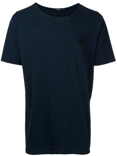 однотонная футболка Bassike