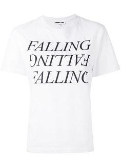 футболка с принтом Falling McQ Alexander McQueen