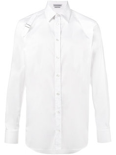 рубашка с лямками от кобуры  Alexander McQueen