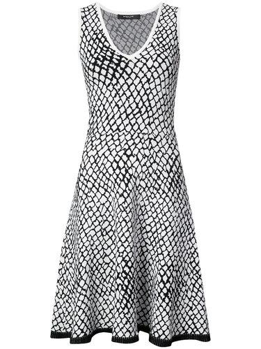 расклешенное платье с геометрическим принтом  Derek Lam