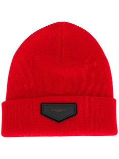 вязаная шапка с логоипом Givenchy