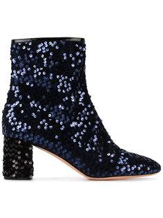 ботинки с пайетками Rochas