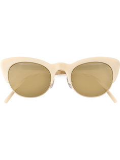"""солнцезащитные очки в оправе """"кошачий глаз"""" Matsuda"""