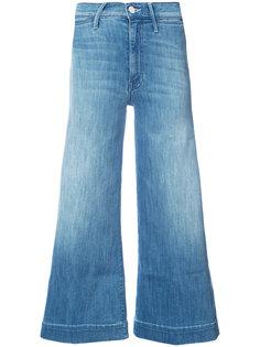 укороченные широкие джинсы  Mother