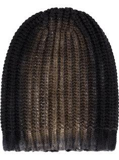 шапка-бини в рубчик Avant Toi