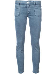 выбеленные джинсы скинни  Closed