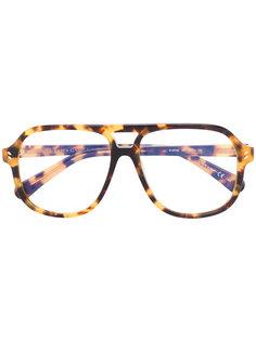 солнцезащитные очки в оправе с эффектом черепашьего панциря Stella McCartney