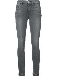 выбеленные джинсы скинни  Paige