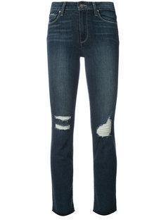 состаренные джинсы скинни  Paige