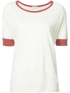 футболка с контрастной отделкой  Closed