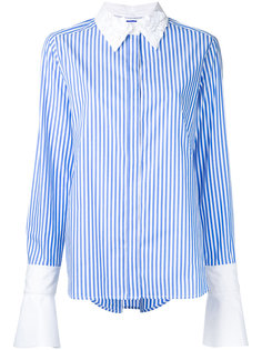рубашка с декорированным воротником Muveil