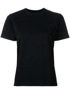 футболка с карманом в форме сердца Muveil