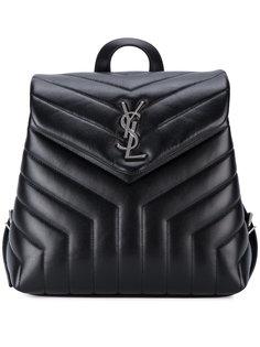 маленький рюкзак с монограммой  Saint Laurent