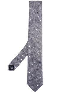 галстук с узором в горох Cerruti 1881