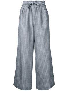 брюки-палаццо в полоску Muveil