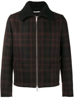 пиджак-рубашка в клетку Valentino