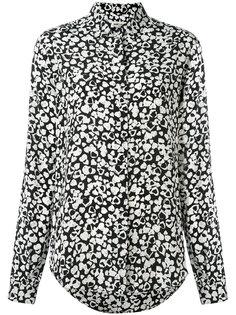 рубашка с принтом сердец Saint Laurent