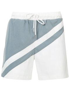 шорты для плавания с панельным дизайном Katama