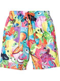 шорты для плавания с принтом Moschino