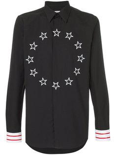 рубашка с принтом звезд Givenchy