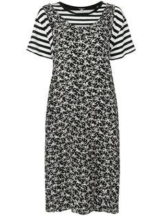 многослойное платье 2-в-1 R13