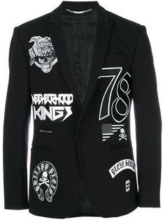 пиджак с нашивками Philipp Plein