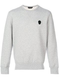 skull applique sweatshirt Alexander McQueen