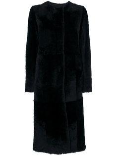 fur longline coat Drome