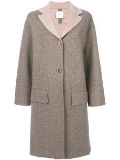 пальто на пуговицах Agnona