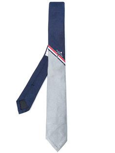 галстук с контрастными панелями Thom Browne