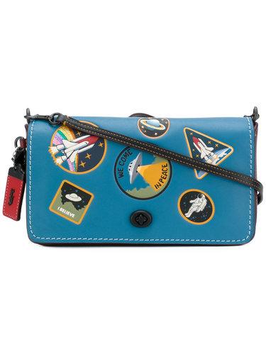 сумка с нашивками в космическом стиле 'Dinky' Coach