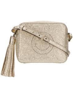 сумка через плечо со смайлом Anya Hindmarch