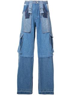 джинсы с накладными карманами Misbhv