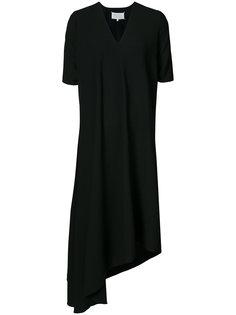 платье-футболка с асимметричным краем  Maison Margiela