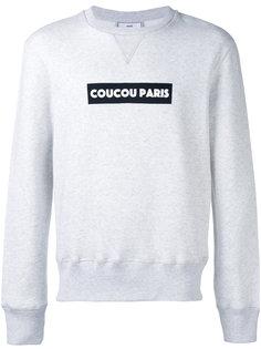 Coucou Paris print sweatshirt Ami Alexandre Mattiussi