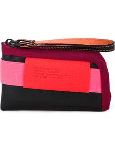 кошелек с панельным дизайном и ремешком на запястье Côte&Ciel Côte&Ciel