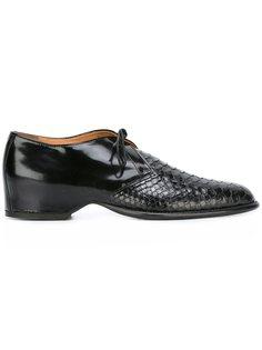текстурированные туфли на шнуровке Maison Margiela