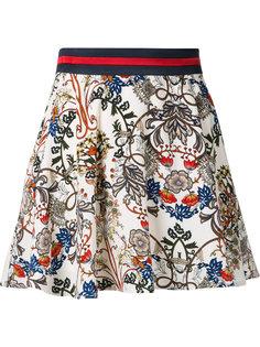 расклешенная юбка с узором пейсли Loveless