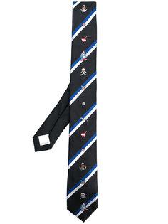 галстук с вышивкой Valentino