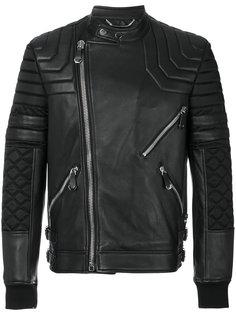 байкерская куртка с панельным дизайном Philipp Plein