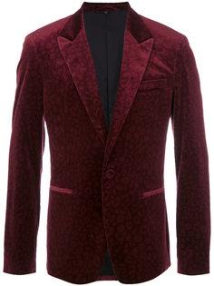 пиджак с леопардовым принтом Roberto Cavalli