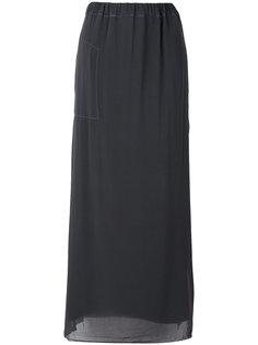 двухслойная юбка макси Kristensen Du Nord