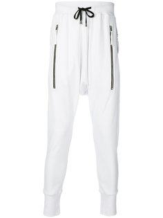 zip pocket track pants Unconditional
