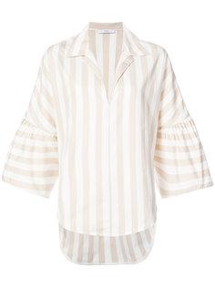 блузка в полоску с широкими рукавами  Tome