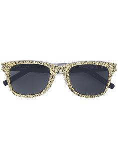 солнцезащитные очки Classic 51 с мелкими блестками Saint Laurent