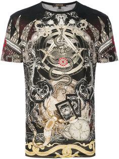 футболка Compass Roberto Cavalli