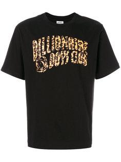 футболка с леопардовым принтом логотипа Billionaire Boys Club